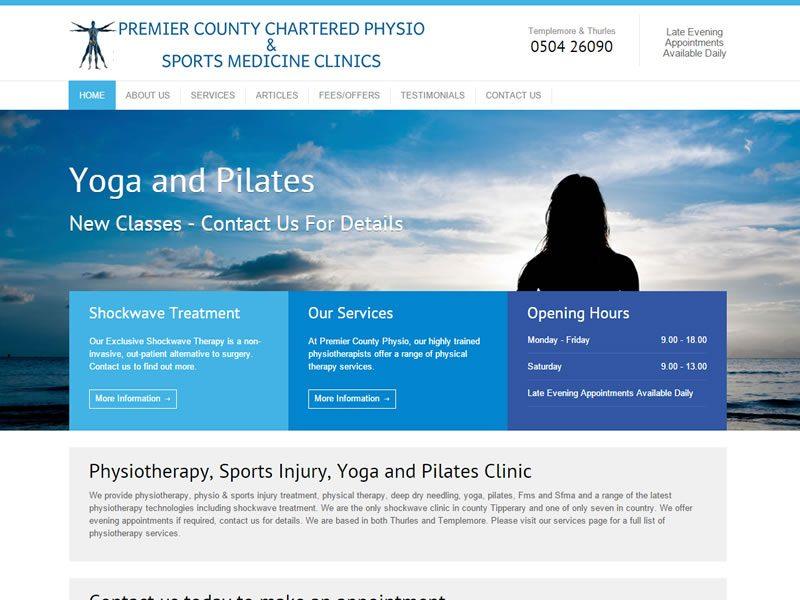 PremierCountyPhysiotherapy-website