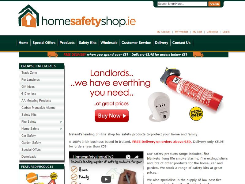 homesafetyshop-website