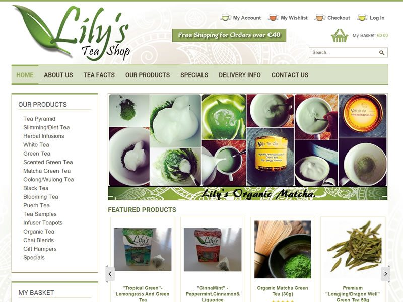 lilysteashop-website