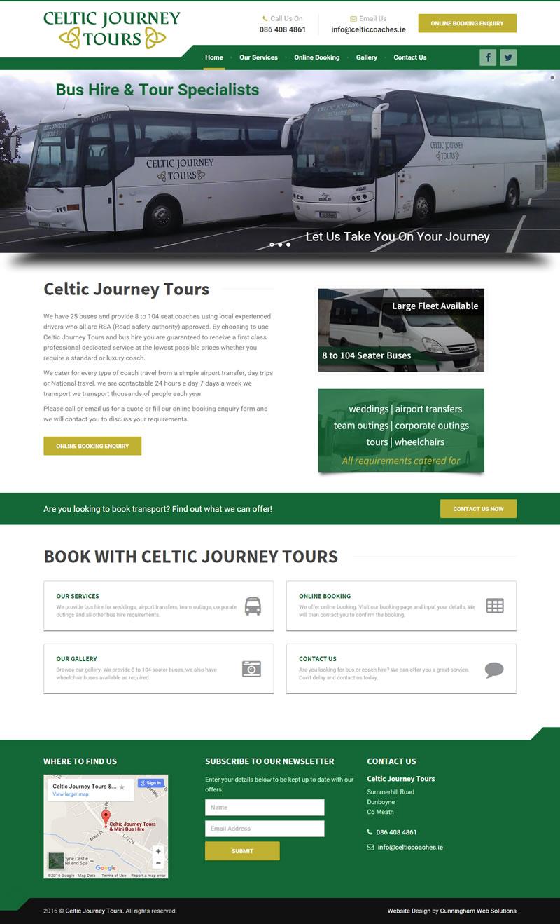 celtic-journey-tours-website-design
